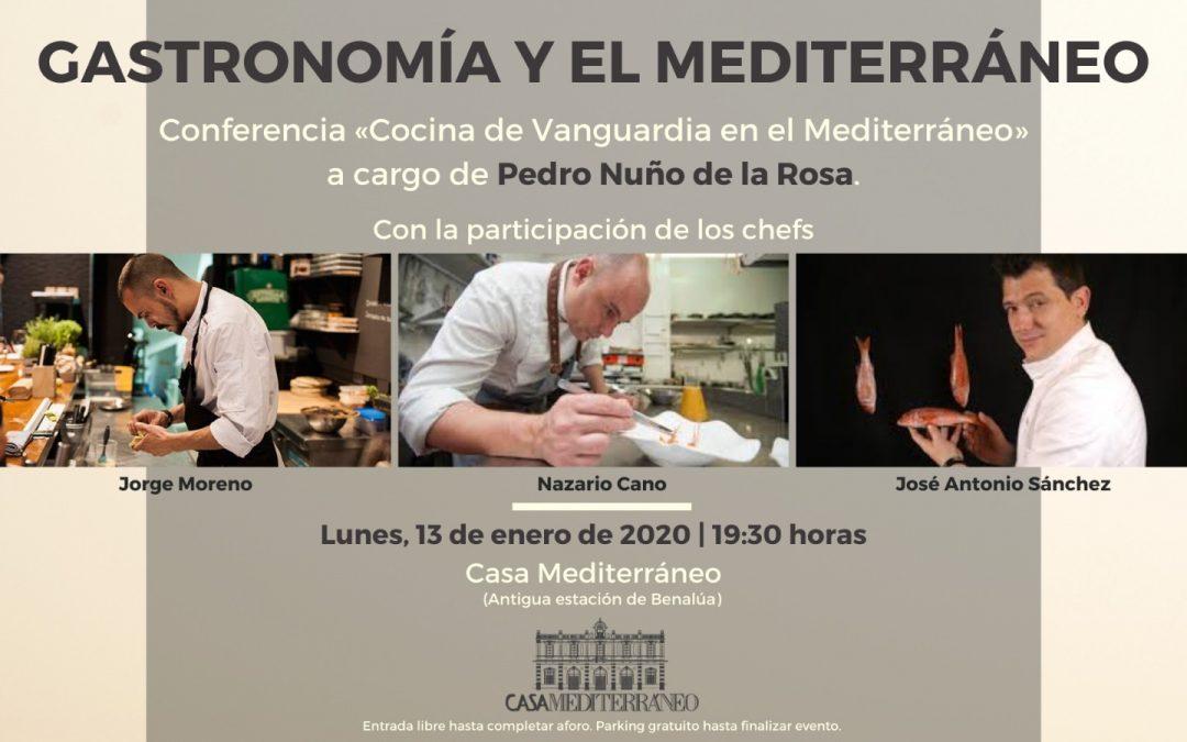 El Chef de Els Vents, José Antonio Sánchez será ponente en «GASTRONOMÍA Y EL MEDITERRÁNEO»