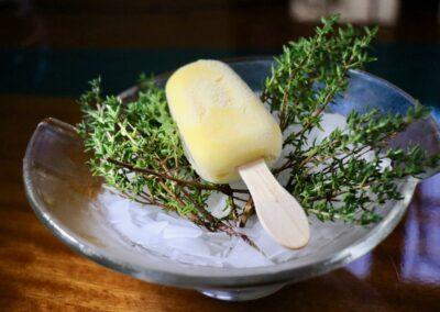 JJ QUIJAS: AMISTAD |Sandia en texturas, cilantro, semillas de pasión y citronela